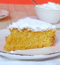 Торт тыквенный с йогуртовым кремом