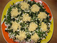 Салат одуванчик
