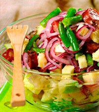 Картофельный салат Зимний пикник