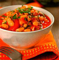 Фасоль в остром томатном соусе Зимний пикник