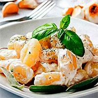 Норвежская кухня. Рыбные клецки в соусе.