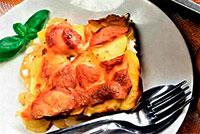 Шведская кухня. Запеканка из лосося.