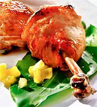 Куриные ножки с манговым соусом