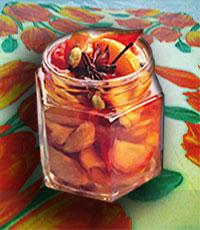 Персиковое варенье с пряностями