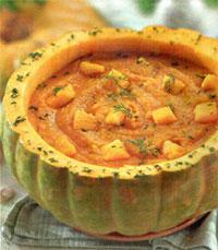 Рагу из тыквы, томатов и сладкого перца
