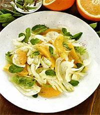 Салат из апельсинов и фенхеля
