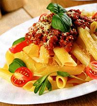 Макароны с соусом «Болоньезе»