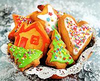 Имбирное печенье к Новому году