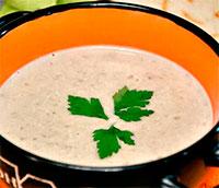 Чечевичный суп-пюре с кокосовым молоком и имбирем
