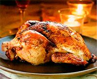 Курица, запеченная в чесноке