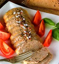 Домашняя вареная колбаса (блюда из курицы)