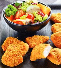 Куриные наггетсы (блюда из курицы)