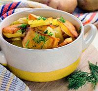 Быстрый картофель (рецепты для микроволновки)