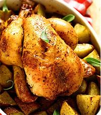 Хмельной цыпленок (немецкая кухня)