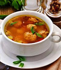 Суп с фрикадельками и репой (рецепты из первых овощей)