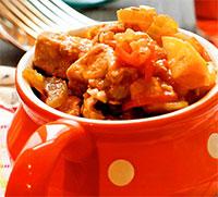 Мясо с овощами в воке (жареные блюда)