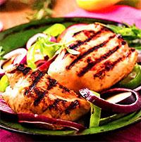 Имбирная курица (жареные блюда)