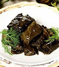 Долма с рисом (греческая кухня)