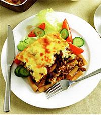 Макаронная запеканка, пастицио (греческая кухня)