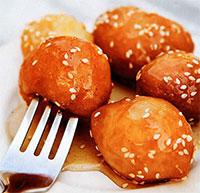 Пончики  лукумадес (греческая кухня)