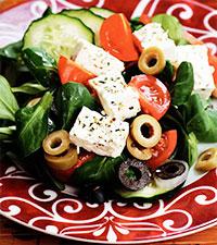 Салат греческий (греческая кухня)