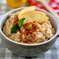Рисовая каша с яйцом (легкий завтрак)