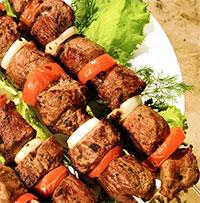 Шашлык по-сибирски (на пикник)