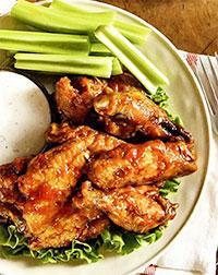 Острые куриные крылья (на пикник)