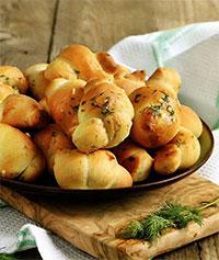 Булочки чесночные с сыром (на пикник)