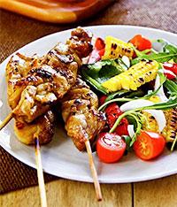 Куриный шашлычок (на пикник)
