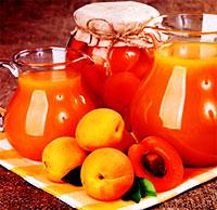 Сок из абрикосов (Варенья компоты заготовки)