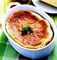 Камбала под сырным суфле (рецепты приготовления рыбы)