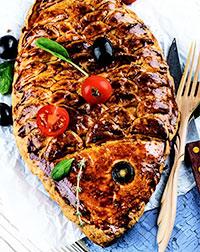 Рыбный пирог с горбушей (рецепты приготовления рыбы)