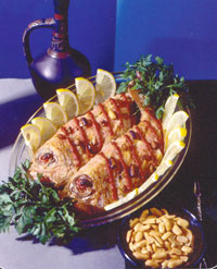 Рыба, жаренная по- маракански