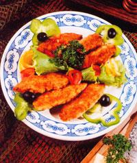 Котлеты рыбные с сыром
