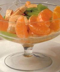 Салат из киви и мандаринов