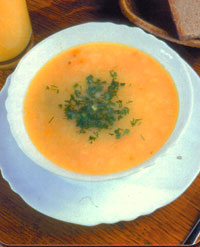 Острый сырный суп