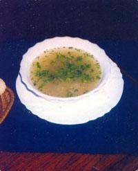 Украинский суп на скорую руку