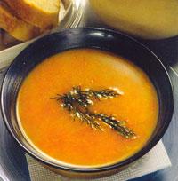 Экзотический морковный суп